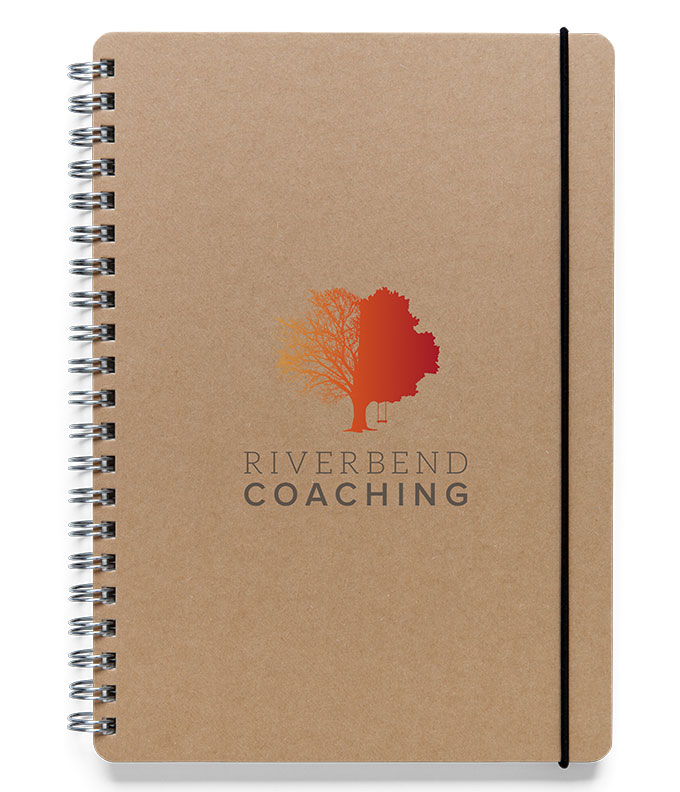 Riverbend Coaching notebook by a little creative