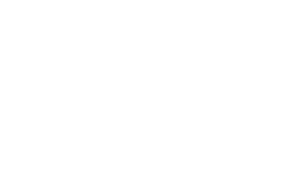 Holliday Health + Wellness logo by a little creative