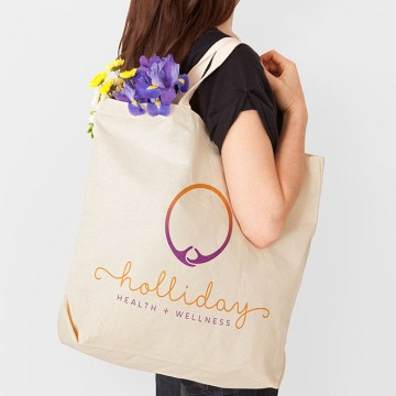 Holliday Health promo bag by a littlecreative