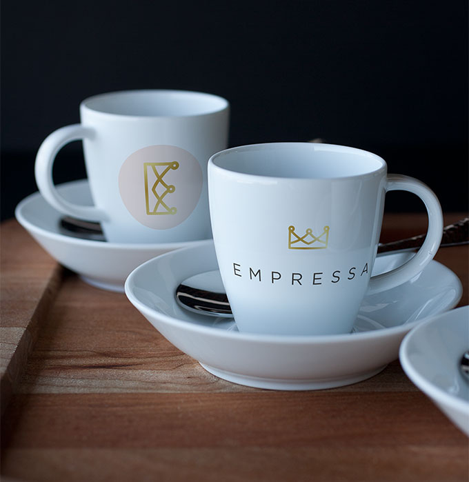 empressa dishware by a little creative