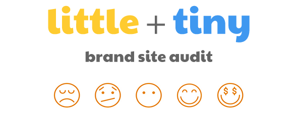 little + tiny brand site audit