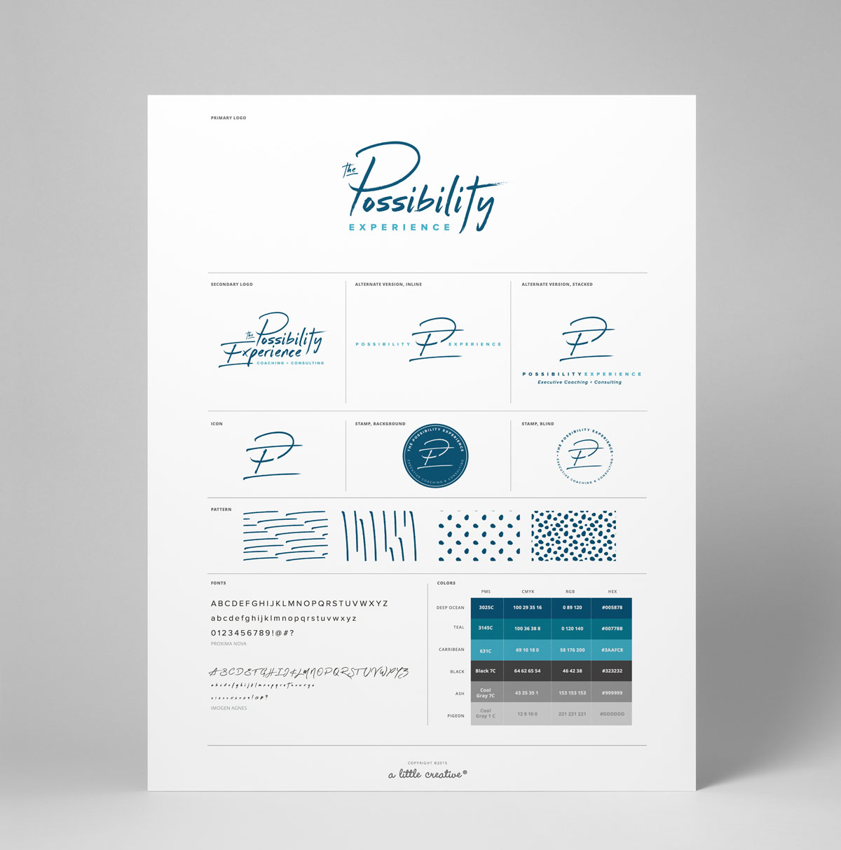 The Possibility Experience brand snapshot // a little creative