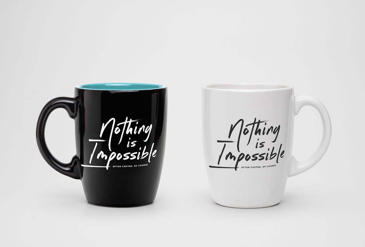 The Possibility Experience mug // a little creative