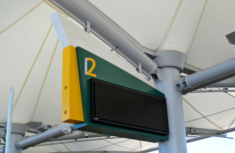San Diego Airport Terminal 2 Signage // a little creative