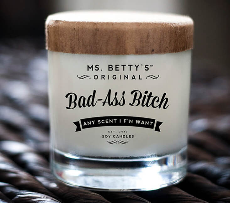 Bad-Ass Bitch Candle