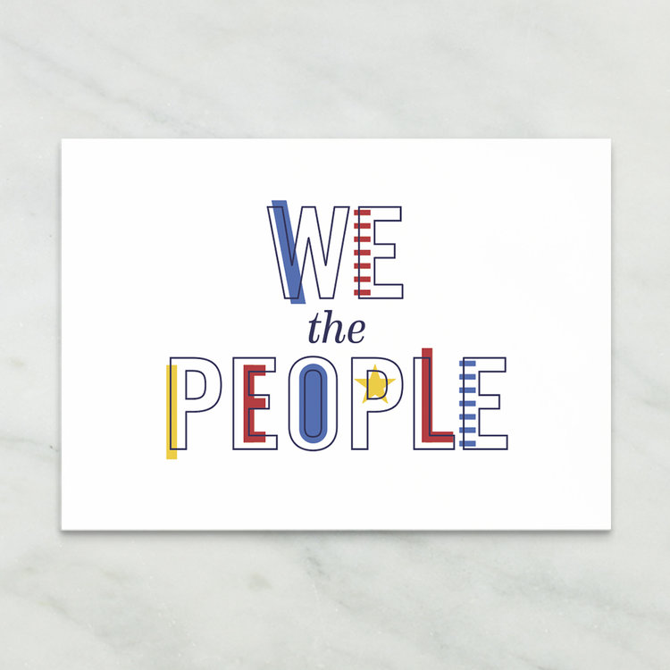 We the Postcard project // a little creative