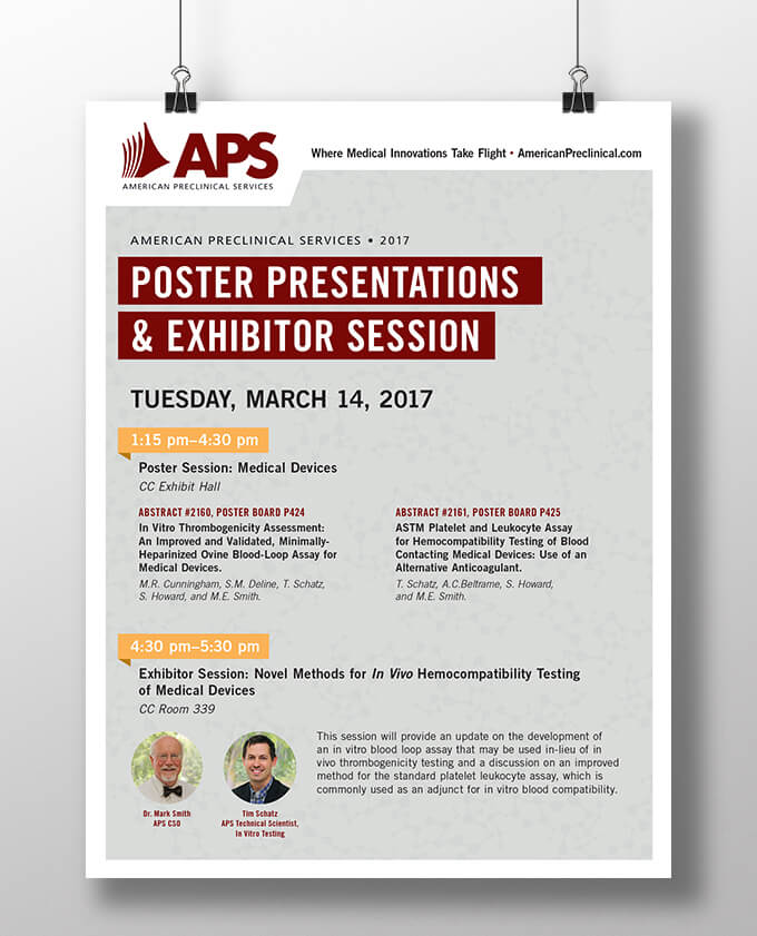 APS poster // a little creative