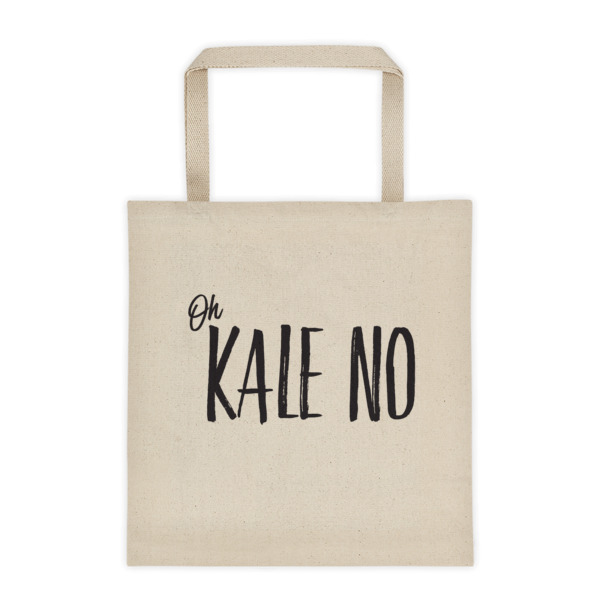 kale no tote // a little creative