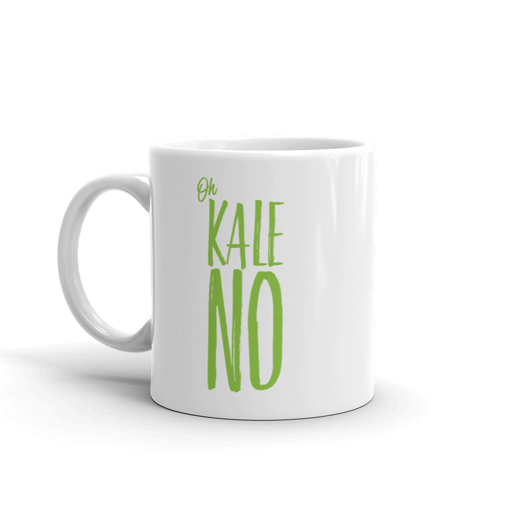 kale no mug // a little creative