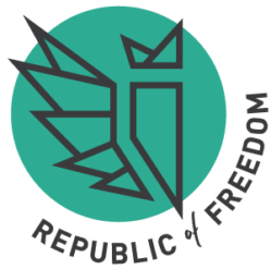 Republic of Freedom lockup // a little creative